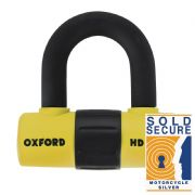 Oxford HD Max Disc Lock Yellow LK311